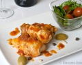 Swordfish Involtini in tomato sauce