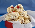 Sweet Popcorn Snowballs