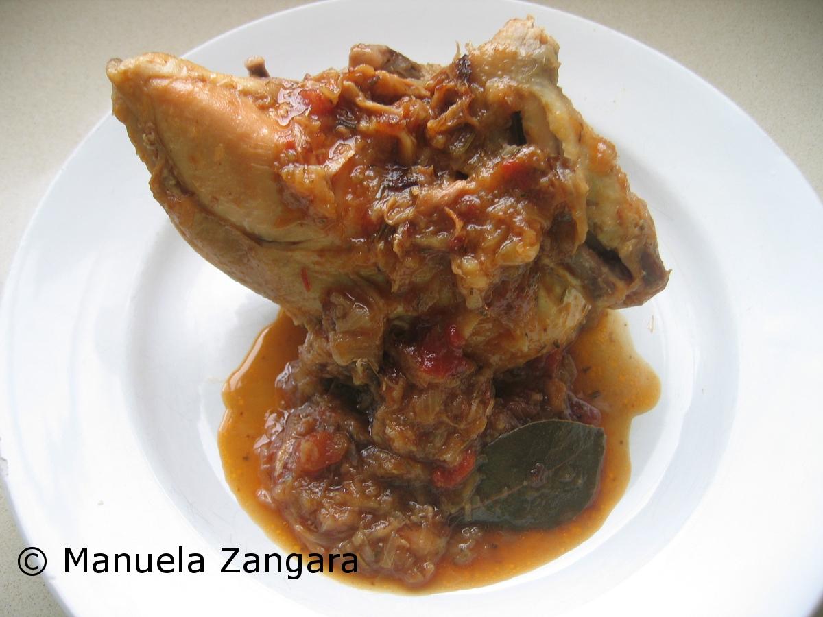 Agglassato chicken