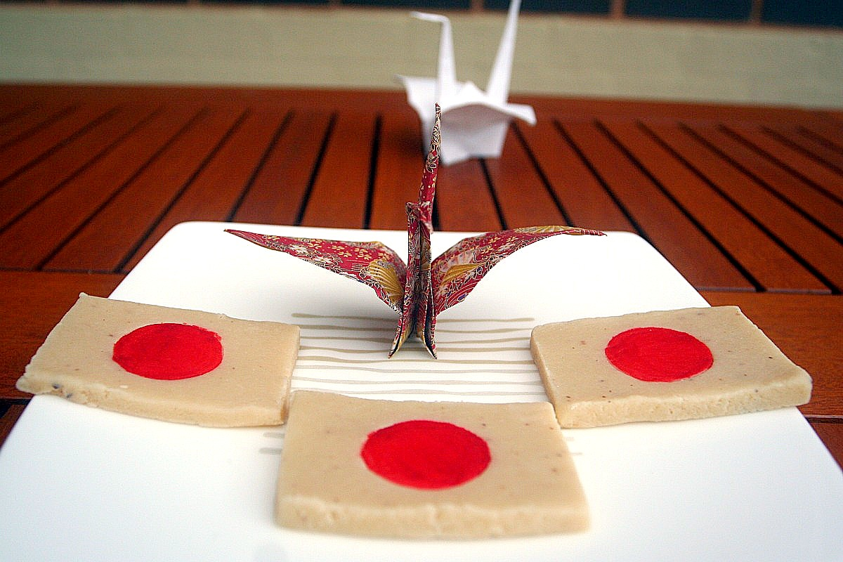 Martorana - Marzipan (Japan Flag)