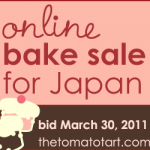 Online Bake Sale Japan badge