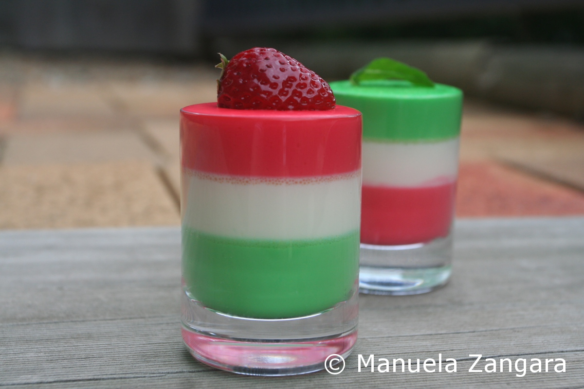 How To Make Layered Panna Cotta Recipe — Dishmaps