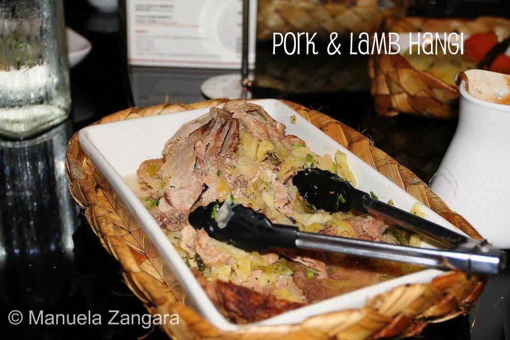 Pork and Lamb Hangi