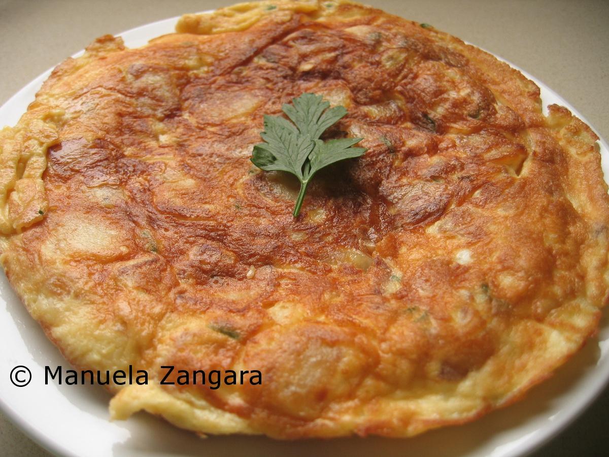 Potato Frittata Recipe — Dishmaps
