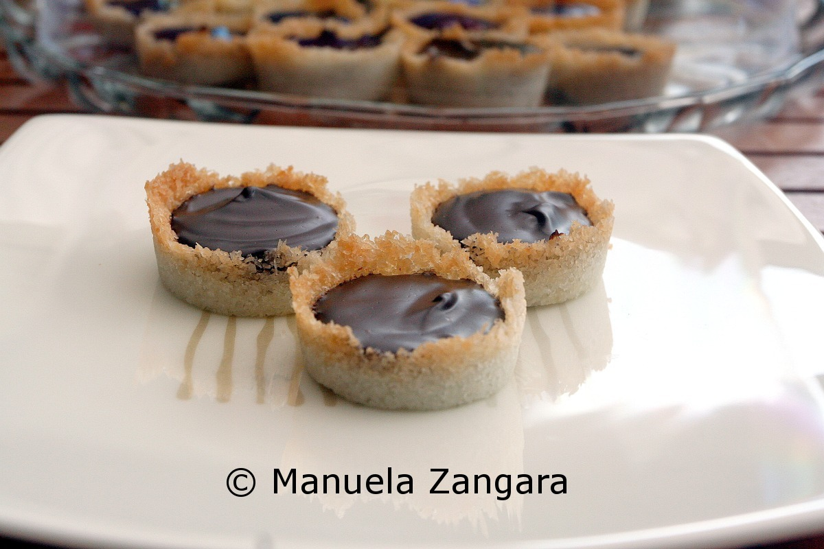 Chocolate and Coconut Tartelettes