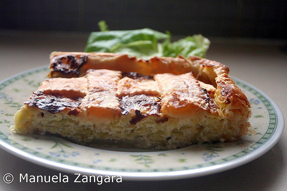 Zucchini and Ricotta Quiche