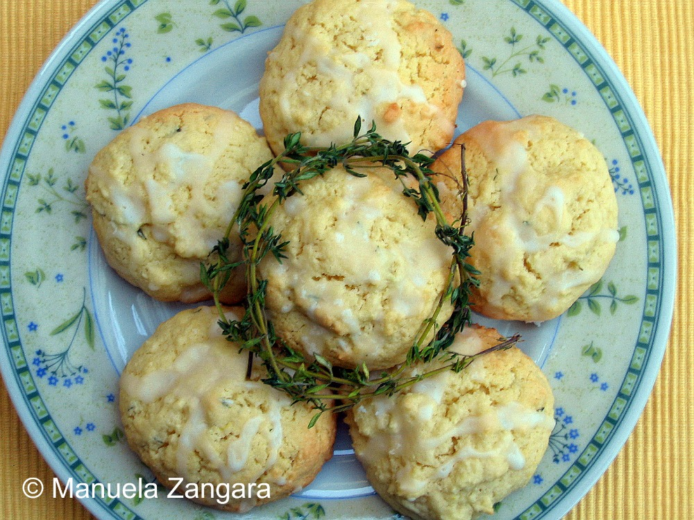 Thyme Scented Lemon Cookies