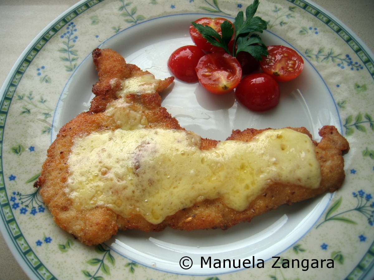 Chicken Cotoletta with Cheese