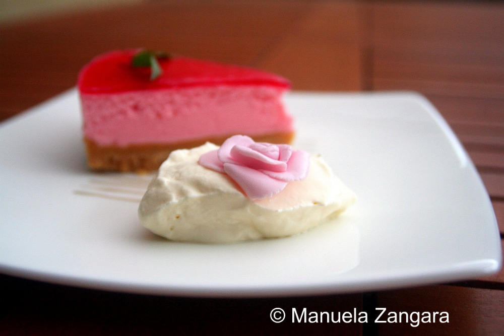 Rose Cheesecake