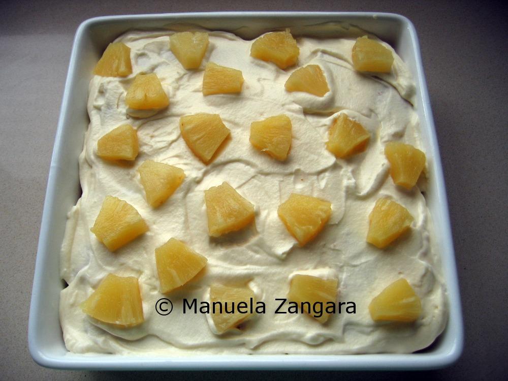Pineapple layered dessert