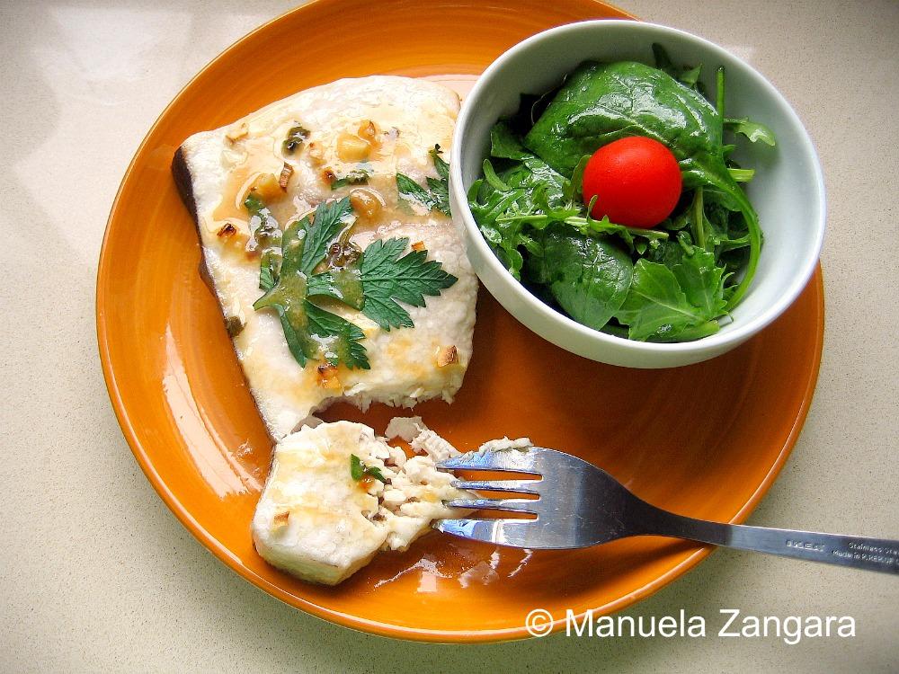 Baked Swordfish