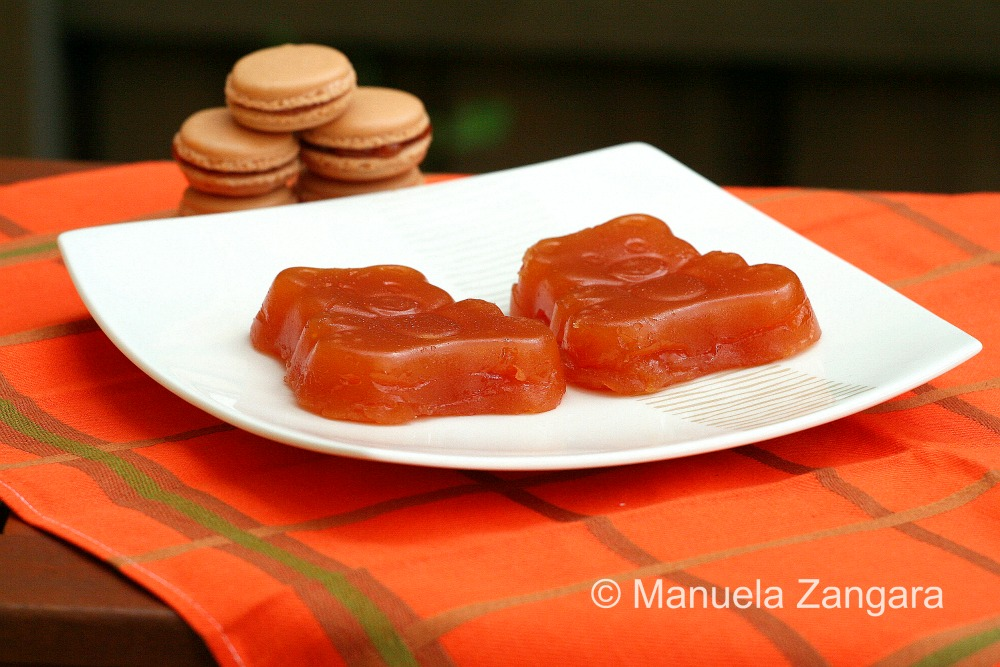 Cotognata - Sicilian Quince Paste and Quince Jelly Macarons