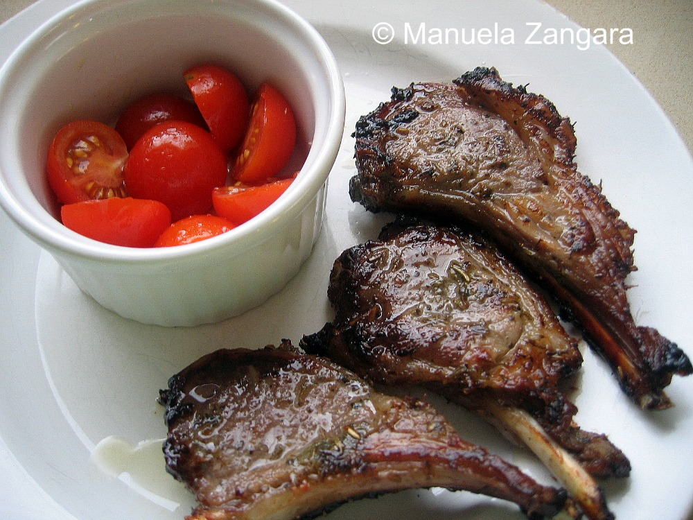 Marinated Lamb Cutlets