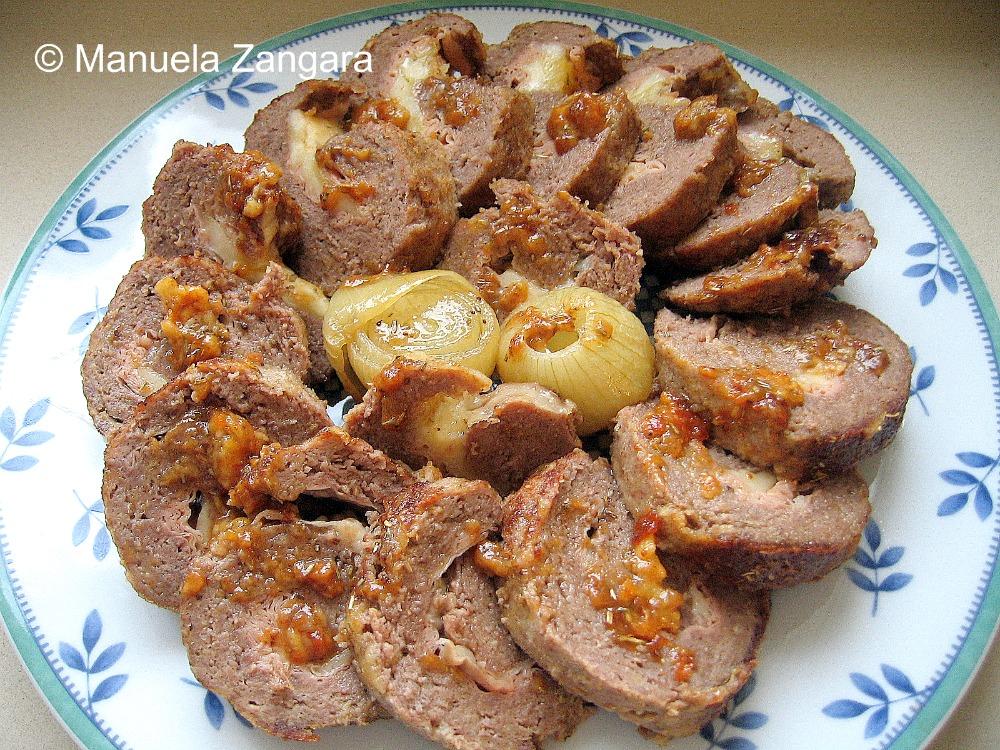 Polpettone - Stuffed Meatloaf