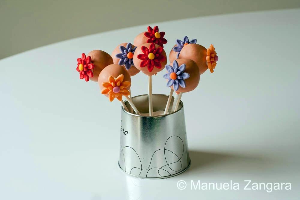 Flowery Cake Pops & Manuu0027s Menu - Authentic Italian Home Cooking u0026 More