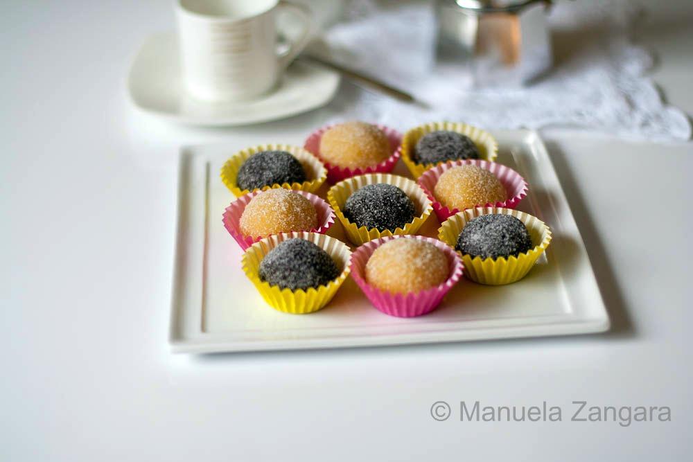 Orange and Chocolate Flavoured Marzipan Balls