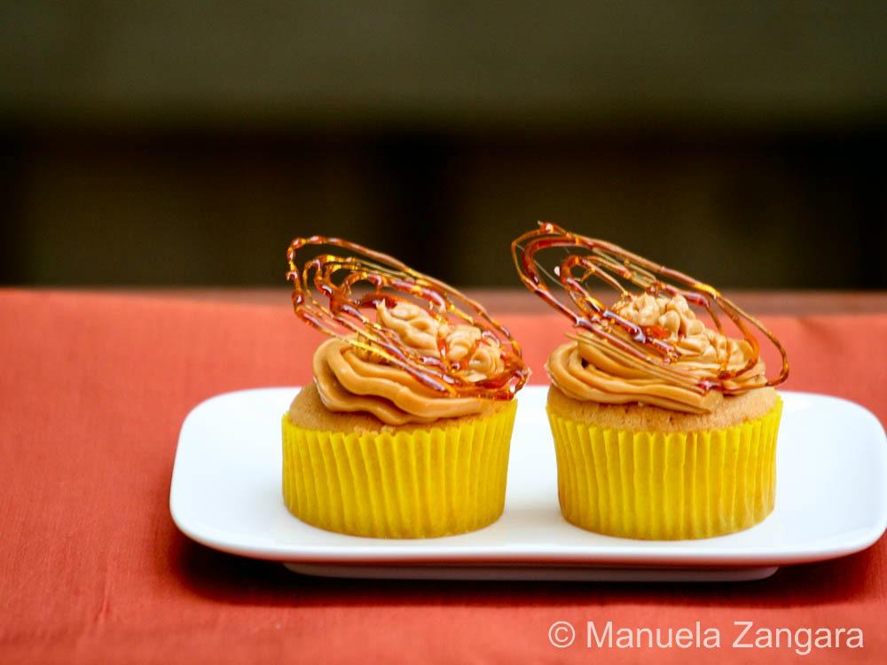 Triple Salted Caramel Cupcakes