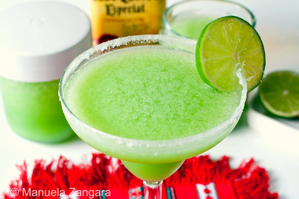Make-ahead frozen Margaritas