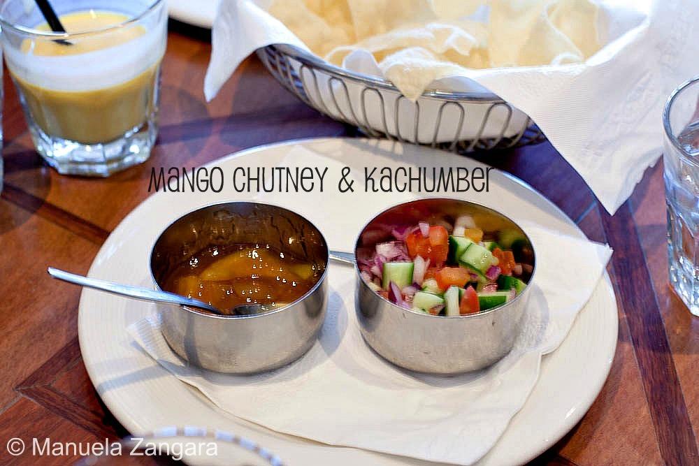 Abhi's Mango Chutney and Kachumber