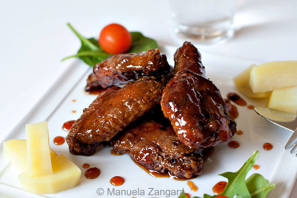 Sweet and Spicy Chicken Wings