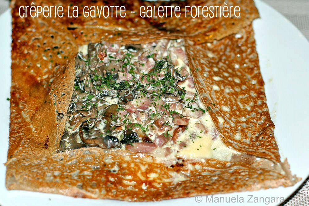 Galette Forestière