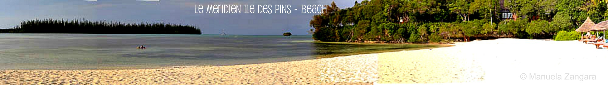 Le Meridien Ile des Pins - Beach