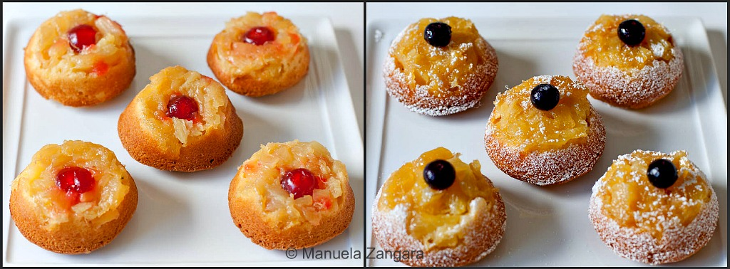 Pineapple Upside Down Tea Cakes