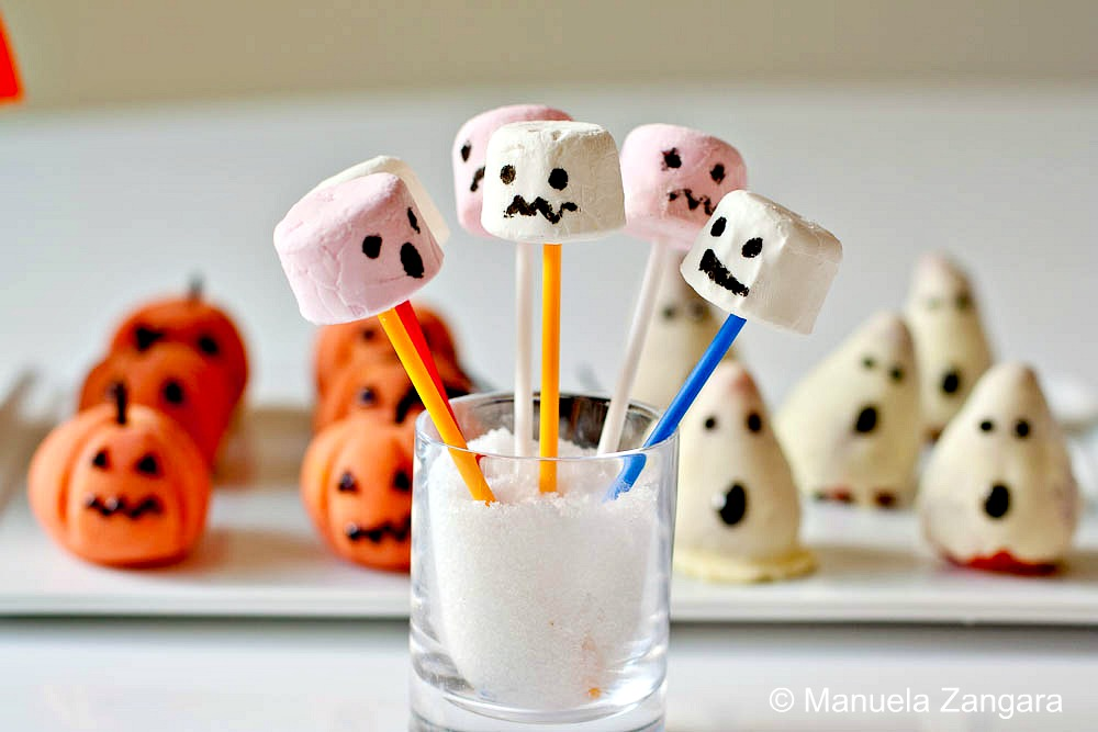 Halloween Treats - Marshmallow Monsters