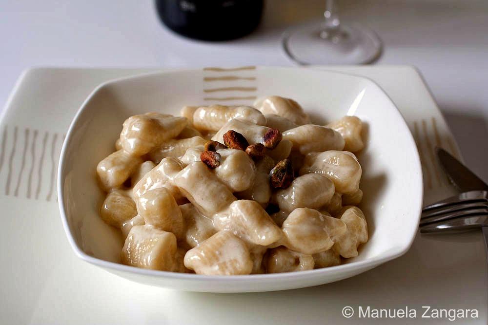 Potato Gnocchi with Gorgonzola