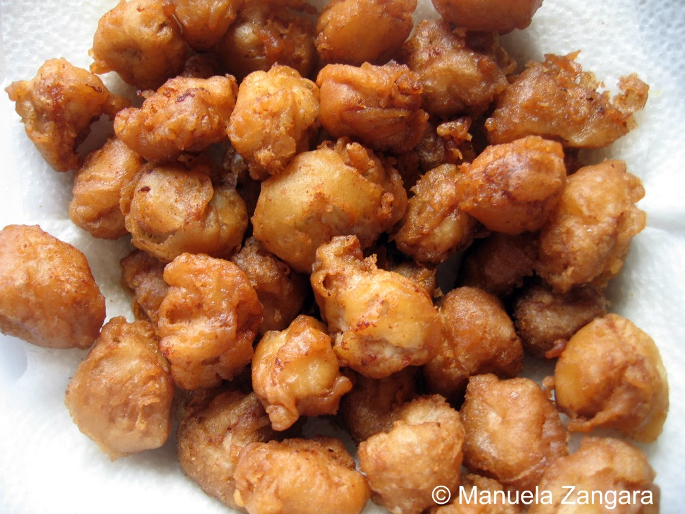Sweet and Sour Pork Fritters