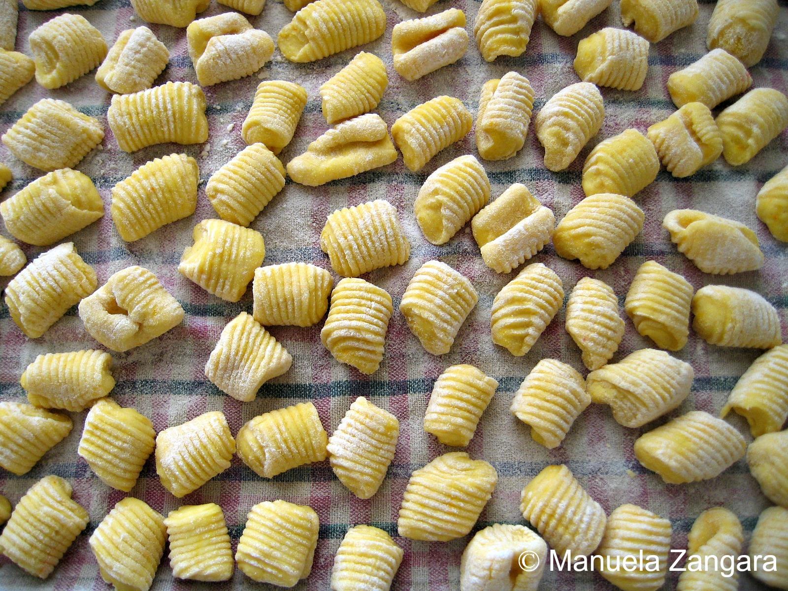 Saffron Potato Gnocchi