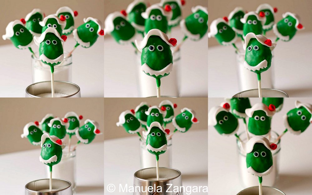 Dorothy the Dinosaur Cake Pops