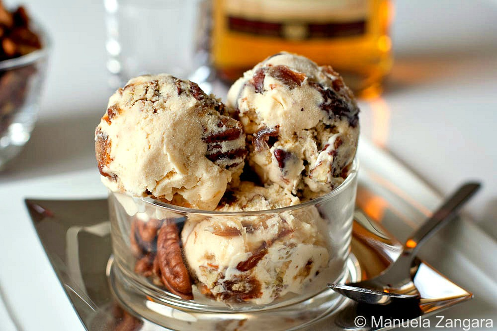 Rum, Date and Pecan Ice Cream