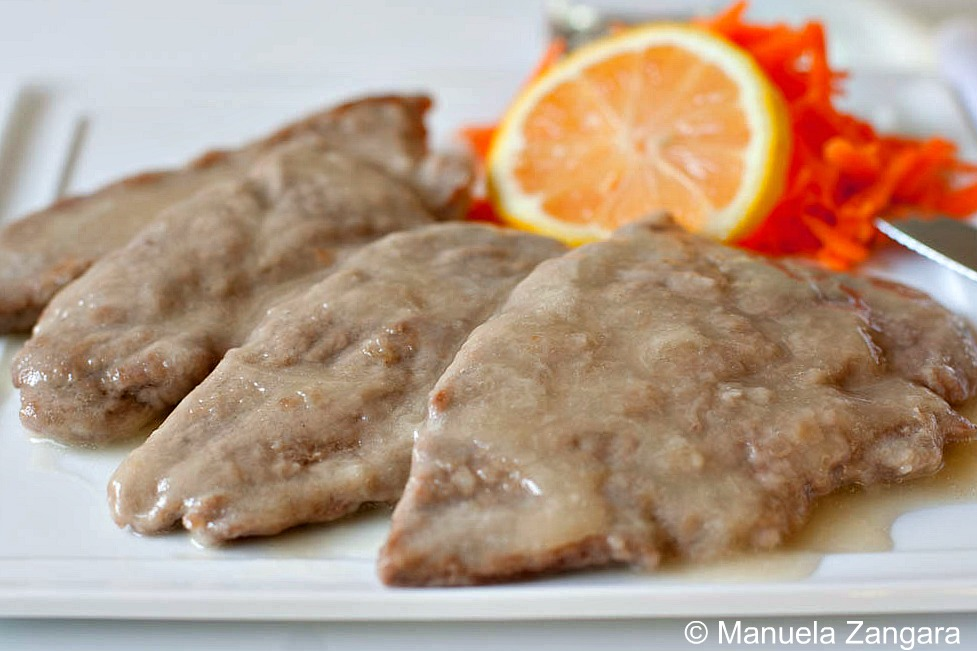 Scaloppine al limone - Lemon scaloppine