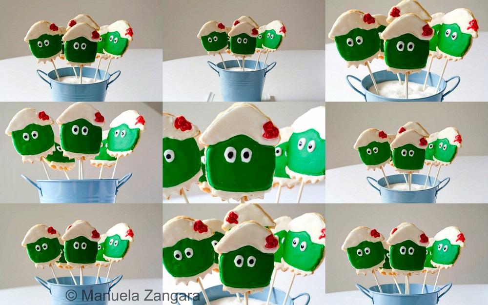 Dorothy the Dinosaur Sugar Cookies