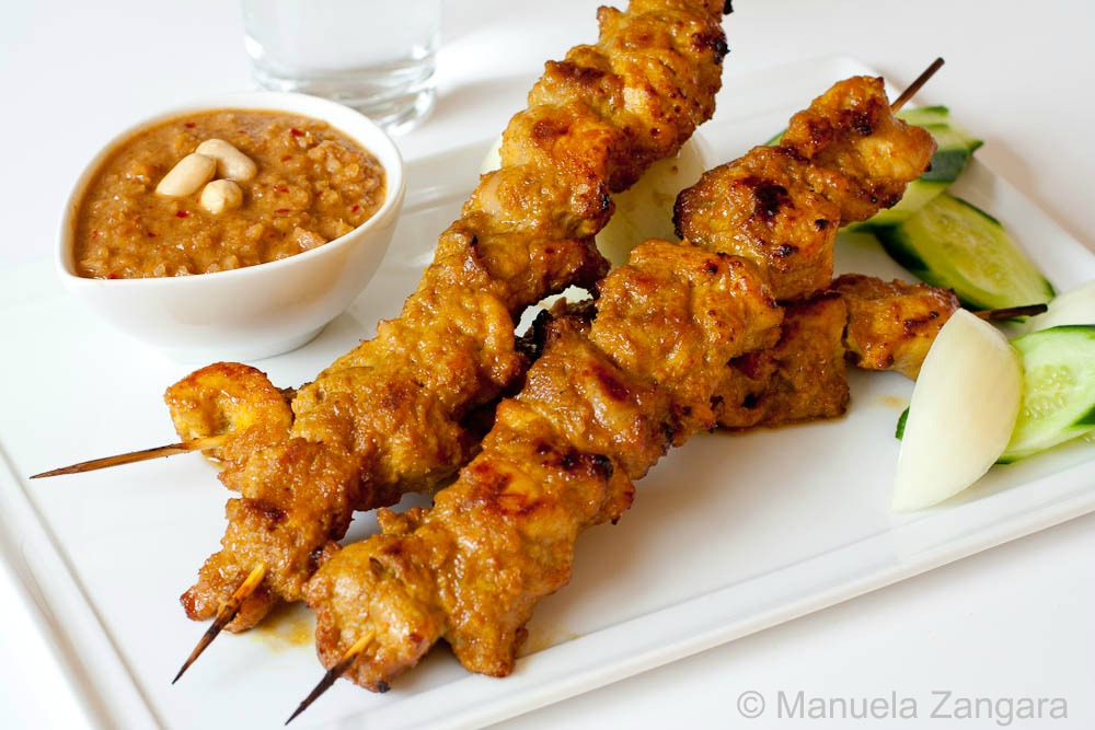 Satay Chicken and Peanut Sauce