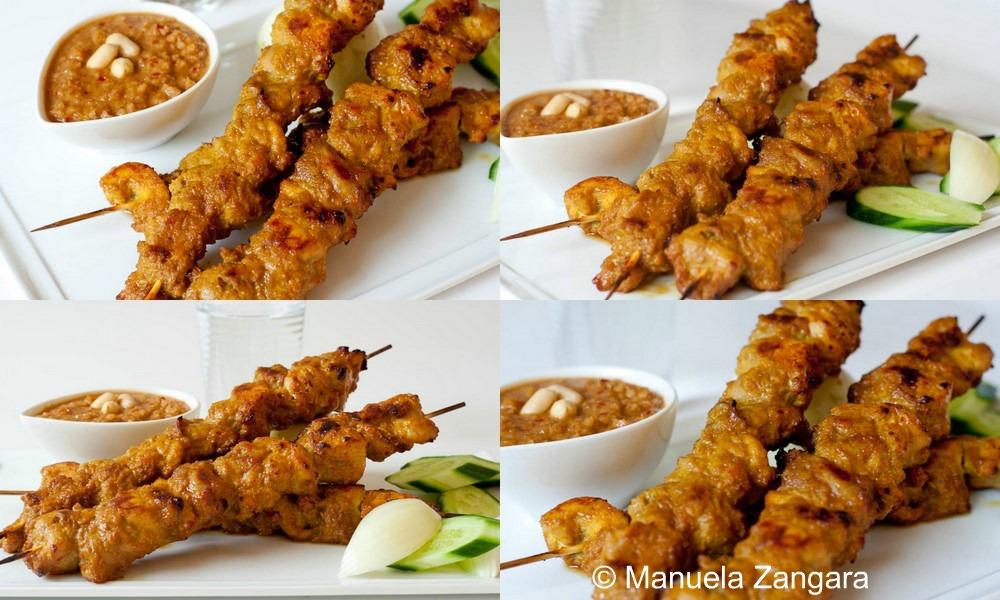 Satay Chicken and Peanut Sauce