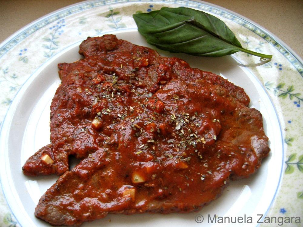 Pizzaiola Beef Schnitzel