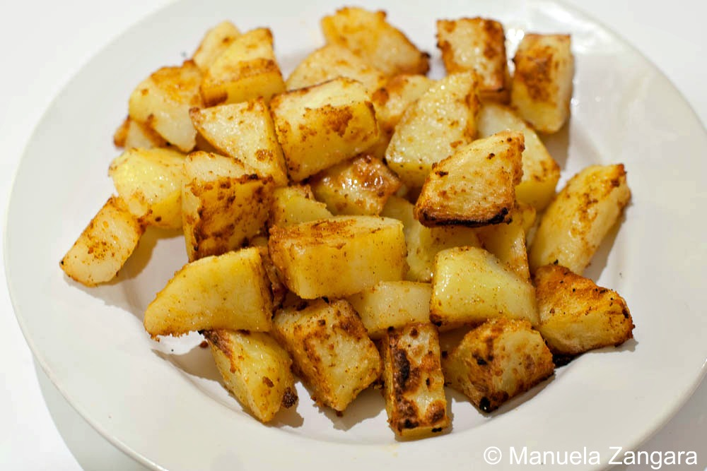 Rotisserie potatoes