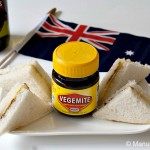Mini Vegemite and Cheese Sandwiches