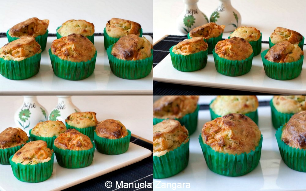 Savoury Zucchini Muffins