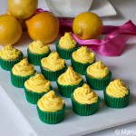 Vanilla and Lemon Mini Cupcakes