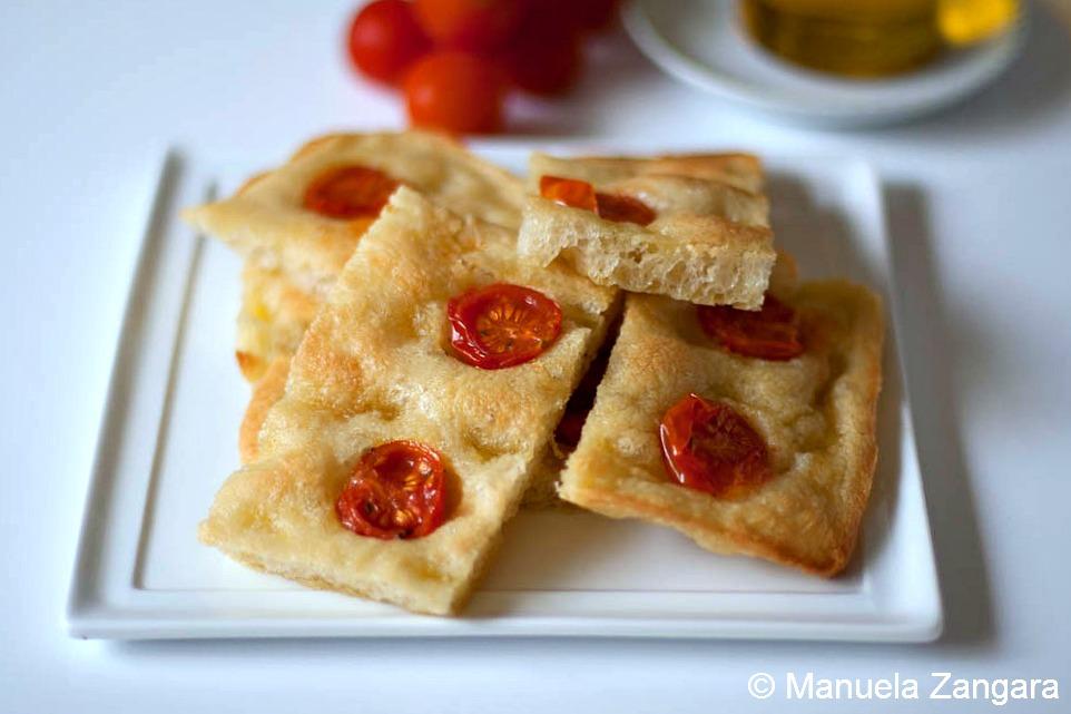 Focaccia al pomodoro - Cherry tomato Focaccia