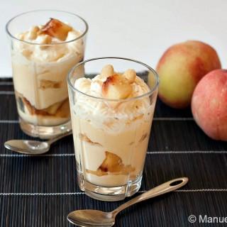 Peach and Almond Trifle