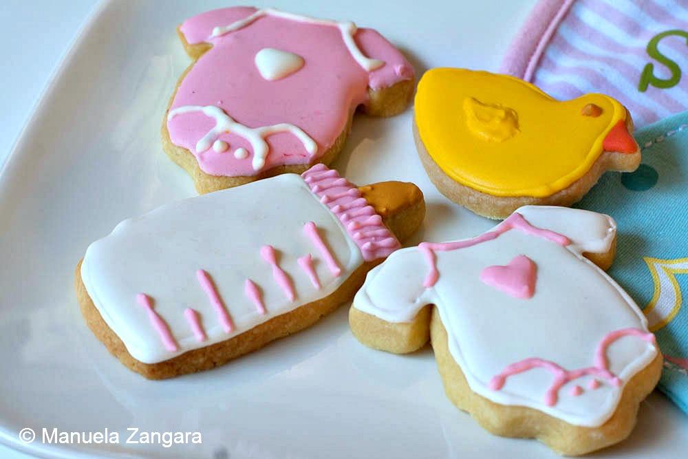 Baby Shower Shortbread Cookies