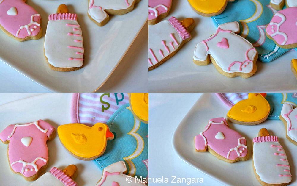Baby Shower Shortbread Cookies