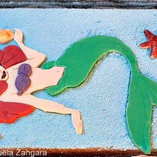 THE LITTLE MERMAID YOGURT CAKE