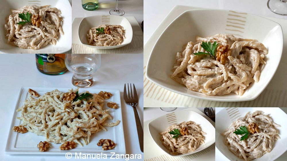 Trofie with Walnut Sauce