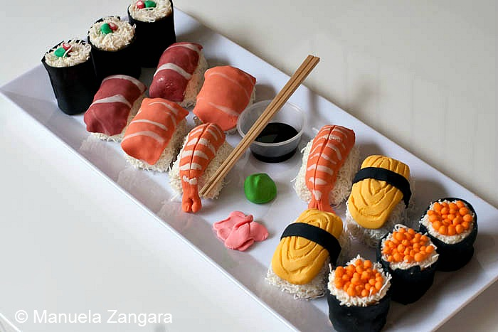 Miraculous Sweet Sushi Personalised Birthday Cards Veneteletsinfo