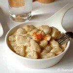 Potato Gnocchi with Taleggio and Orange Fondue